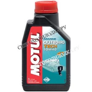 Масло для ПЛМ Motul OUTBOARD TECH 4T 1л