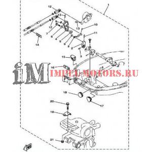 Комплект подключения дистанции Ямаха F15A,F20A