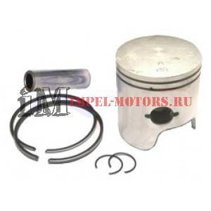 Комплект: поршень, кольца, стопоры, для подвесного лодочного мотора Ямаха: 25Q, 40H, 40N, 40V, 50D, 50E, 50H