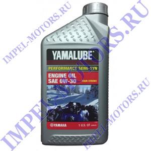 Моторное масло для снегоходов Yamalube 0W-30 (1л)