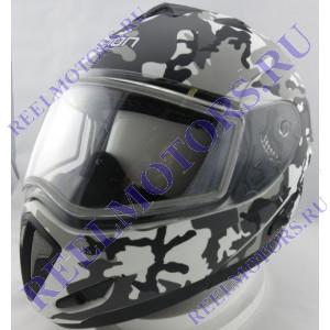 Шлем снегоходов модуляр Legion LEO SNOWHUNTER EDLII
