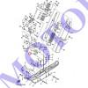 Опора демпфера лыжи Ямаха VK540 8AC-23765-00