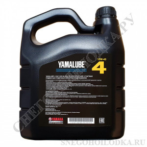 Масло моторное минеральное Yamalube 4M 10W-40 (4л)