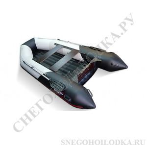 Моторная лодка Хантер 345ЛКА (стационарный транец, НДНД)