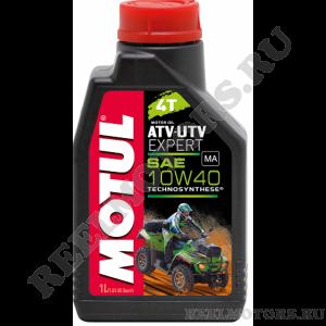 Motul 10W-40 ATV-UTV EXPERT 4T 1л полусинтетика