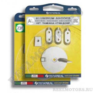 Комплект анодов для подвесных лодочных моторов Ямаха мощностью: 40-60 л.с