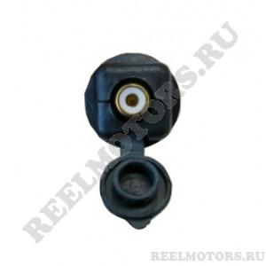 Розетка RCA для подключения электроподогрева визора шлема