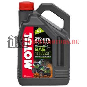 Motul 10W-40 ATV-UTV EXPERT 4T 4л полусинтетика