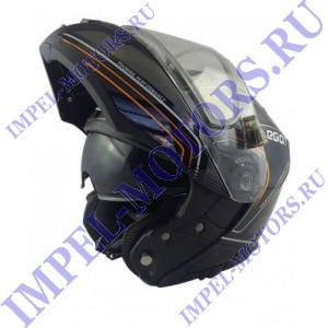 Шлем снегоходов модуляр Legion LEO TRACER EDL