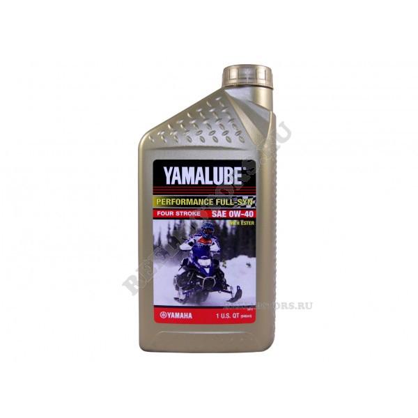 Моторное масло для снегоходов Yamalube 0W-40
