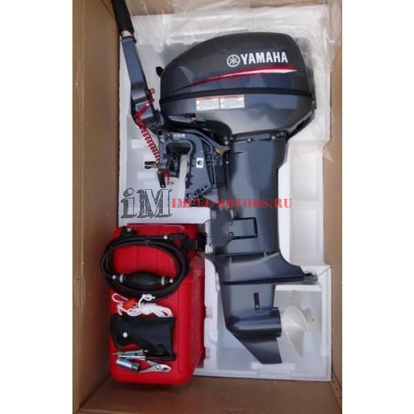 Двухтактный лодочный мотор Ямаха 9.9 GMHS купить в спб